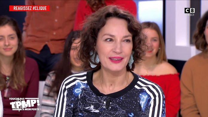 """Jeanne Balibar traite Emmanuel Macron de """"Schlag"""" dans Clique"""