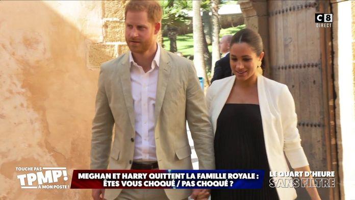 Meghan et Harry quittent la famille royale