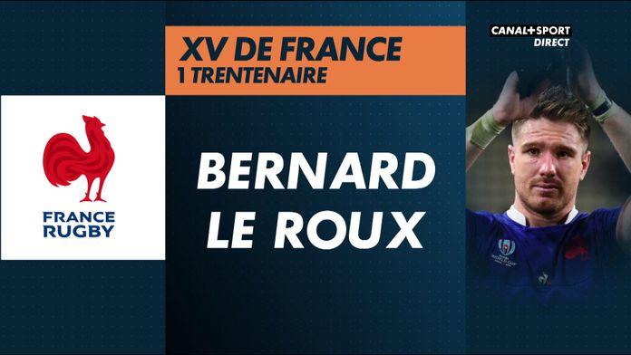 Bernard Le Roux, seul trentenaire