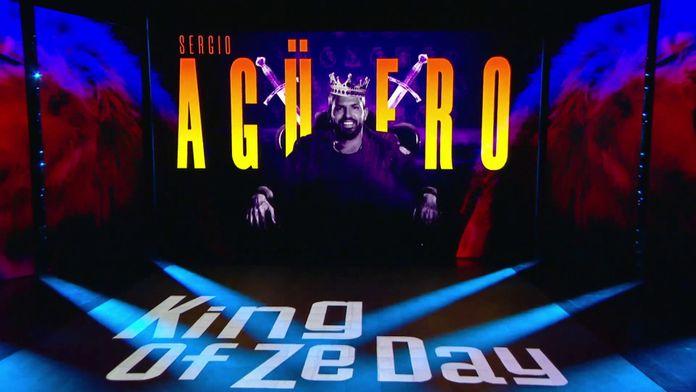 Sergio Agüero est notre King Of Ze Day !