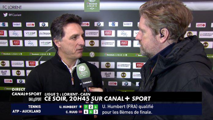 Les impressions de Christophe Pélissier avant Lorient / Caen