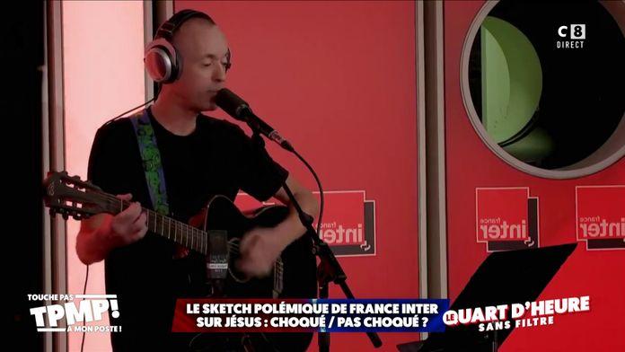 Le sketch polémique de France Inter sur Jésus