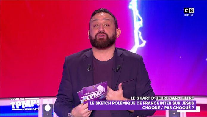 """Le coup de gueule de Cyril Hanouna contre France Inter : """"Je ne peux pas les voir !"""""""