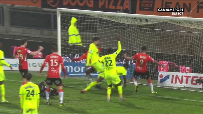 Wissa redonne l'avantage à Lorient