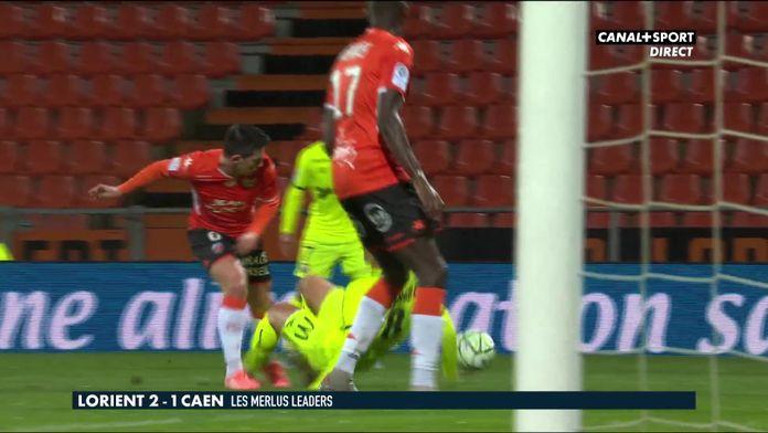 Le résumé de Lorient / Caen