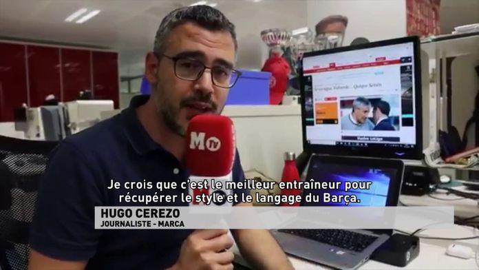 """Hugo Cerezo : """"Je crois que c'est le meilleur entraîneur pour récupérer le style..."""""""