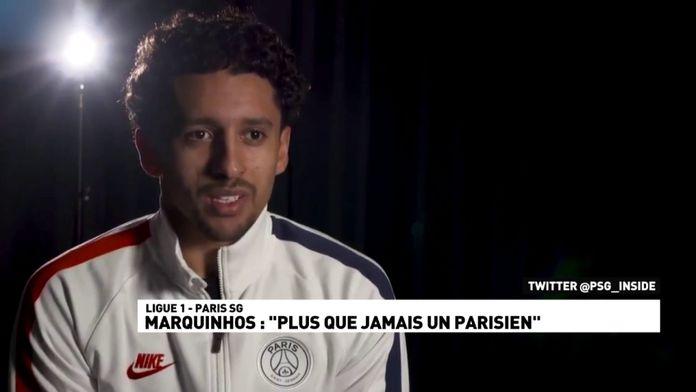 """Marquinhos : """"Plus que jamais un parisien"""""""