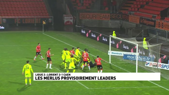 Les Merlus provisoirement leaders de Ligue 2