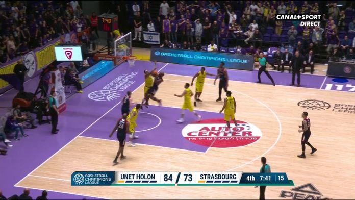 Le buzzer-beater à 3 points pour la SIG Strasbourg !