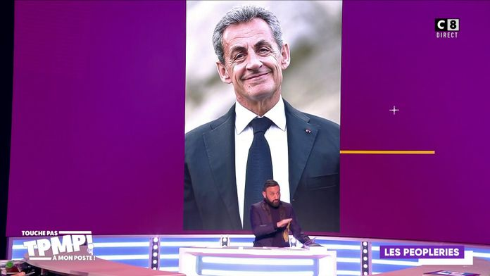 Quand Cyril Hanouna imite Nicolas Sarkozy !