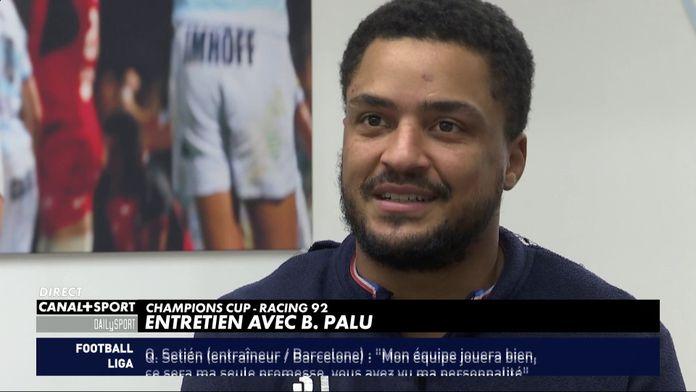 Boris Palu (Racing 92) sur son arrivée en équipe de France
