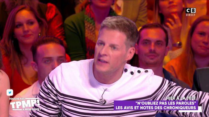 """Matthieu Delormeau tacle Nagui : """"Ça se voit qu'il est faux à l'antenne et qu'il n'est pas généreux"""""""