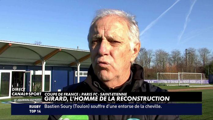 René Girard, l'homme de la reconstruction du Paris FC