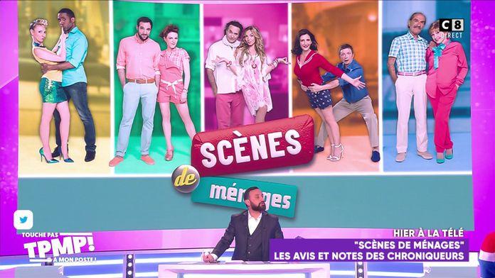 """Les chroniqueurs donnent leur avis sur """"Scènes de ménages"""" diffusé sur M6"""