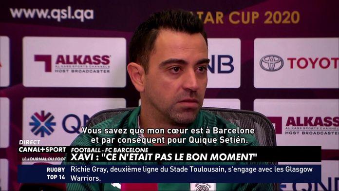 Xavi a refusé le Barça