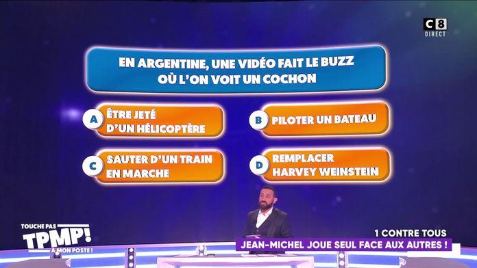 """Le jeu du """"Un contre tous"""" Jean-Michel Maire contre les autres chroniqueurs"""
