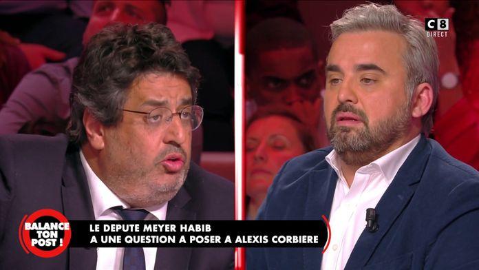 Meyer Habib, ancien vice-président du CRIF face à Alexis Corbière