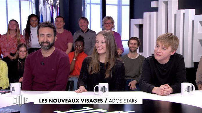 Clique avec  Mathieu Madenian, Chantal Mouffe, Thomas Gioria et Fantine Harduin