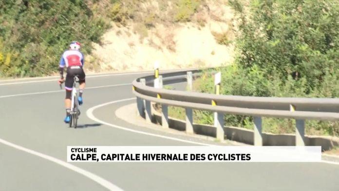 Calpe, capitale hivernale des cyclistes