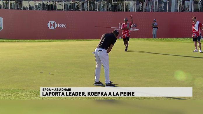 EPGA Abu Dhabi - Laporta leader, Koepka à la peine