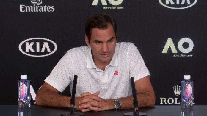 Federer s'exprime sur la tenue de l'Open d'Australie