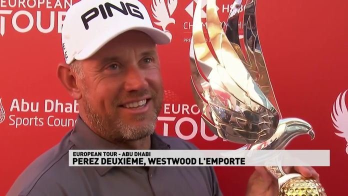 Westwood l'emporte, Victor Perez second