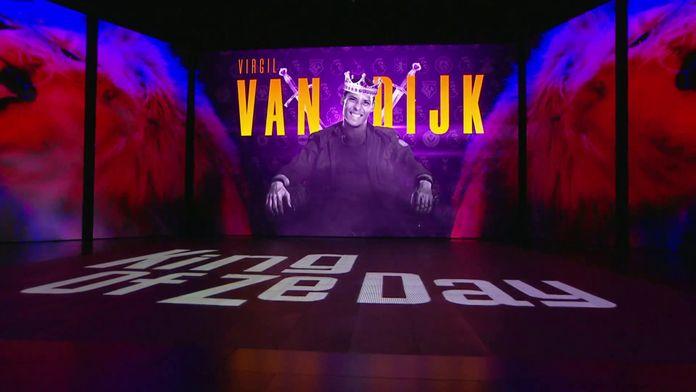 Virgil van Dijk est le King Of Ze Day !