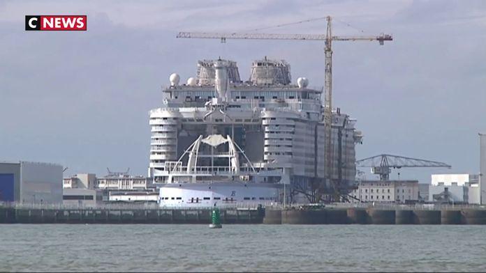 Chantiers de Saint-Nazaire : une commande de 2 milliards pour deux paquebots