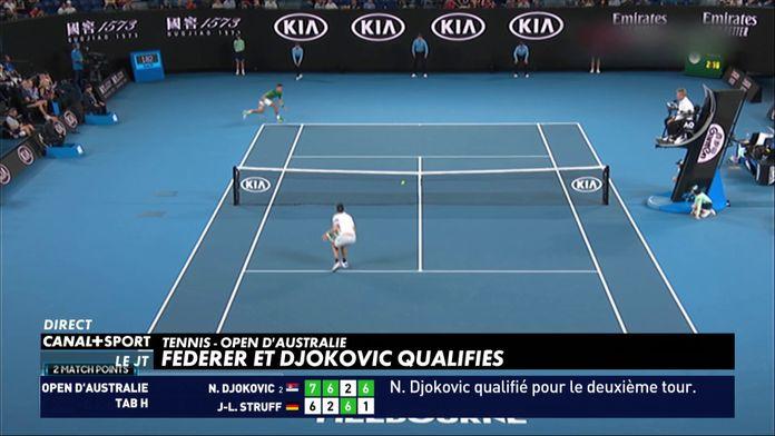Tennis - Premier tour d'Open d'Australie