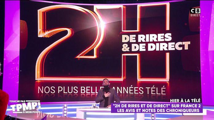 """Les chroniqueurs taclent l'émission """"2h de rires et de direct"""" diffusée sur France 2"""