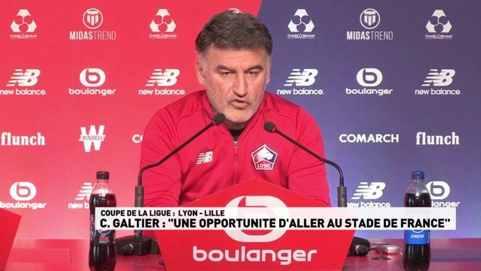"""Galtier : """"une opportunité d'aller au Stade de France"""""""