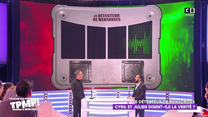 Julien Courbet passe au détecteur de mensonges