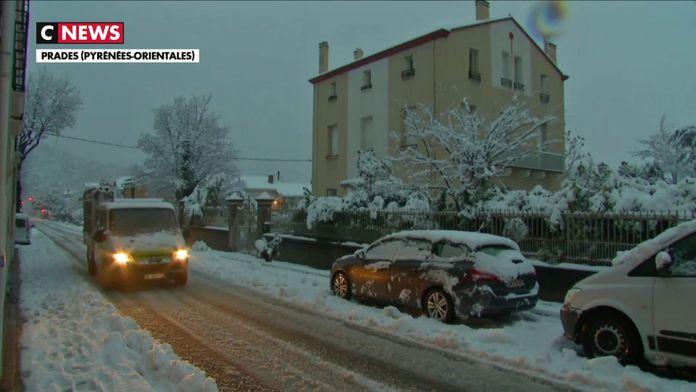 Pyrénées-Orientales : les autorités locales s'inquiètent de l'évolution de la tempête Gloria