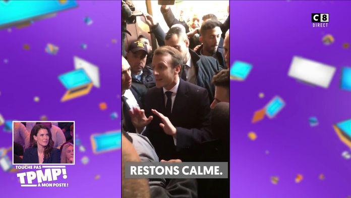 Le coup de gueule d'Emmanuel Macron contre la police israélienne