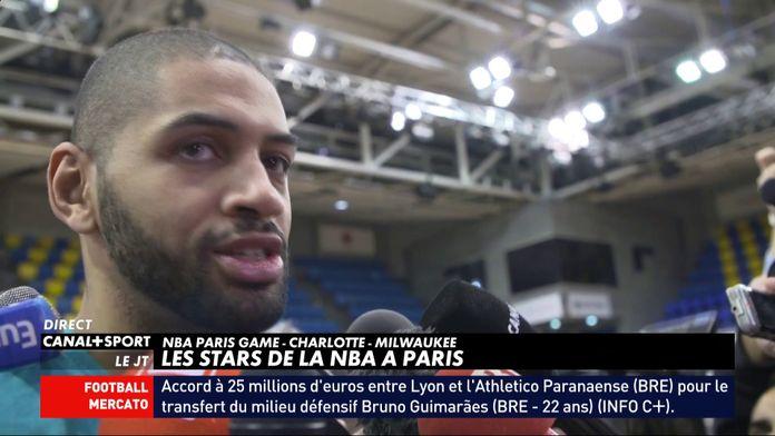 Les stars de la NBA à Paris