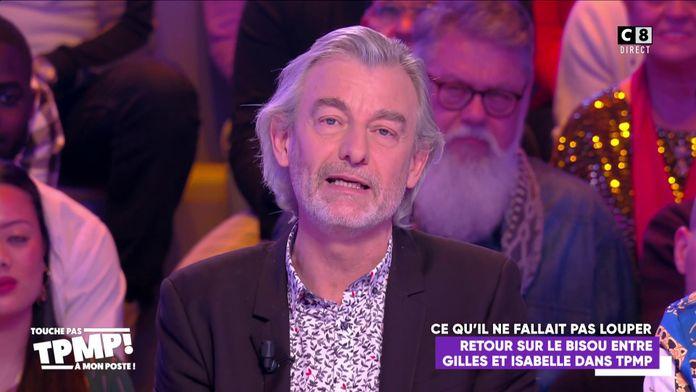 Gilles Verdez en froid avec Fatou à cause de son baiser avec Isabelle Morini-Bosc, il s'explique