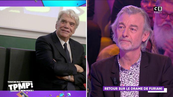 """Gilles Verdez revient sur le drame qu'il a vécu aux côtés de Bernard Tapie : """"Il a sauvé des vies"""""""