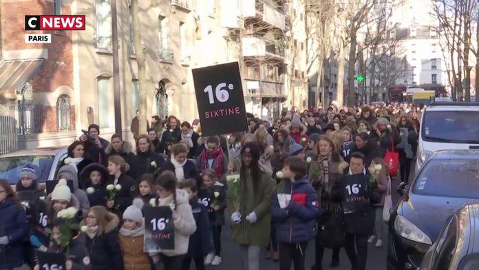 Une marche blanche pour rendre hommage à Sixtine, la fillette mortellement percutée par un camion