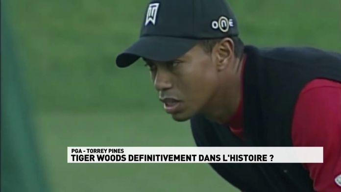 Tiger Woods définitivement dans l'histoire ?