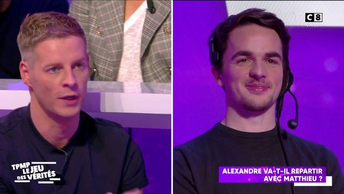 Alexandre va-t-il repartir avec Matthieu Delormeau ?