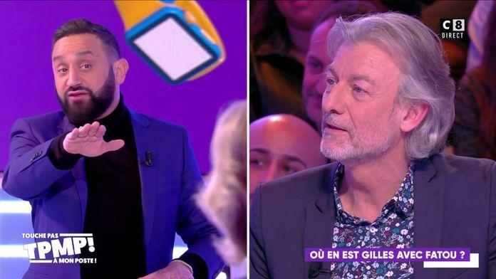 Cyril Hanouna donne des conseils à Gilles Verdez pour récupérer Fatou !