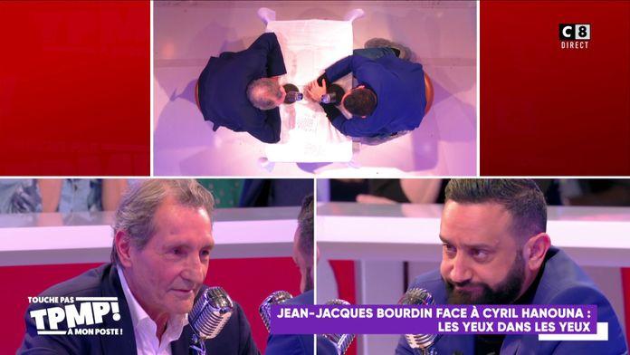 Jean-Jacques Bourdin face à Cyril Hanouna : Les yeux dans les yeux