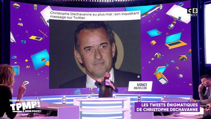 Christophe Dechavanne en dépression ?