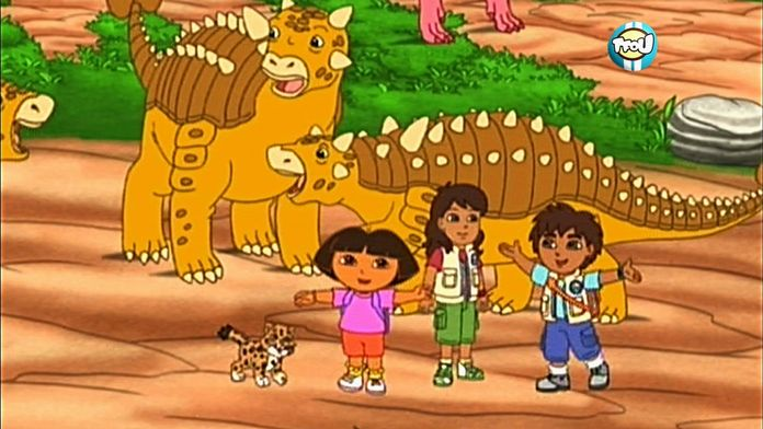 Go Diego ! : Au secours des dinosaures