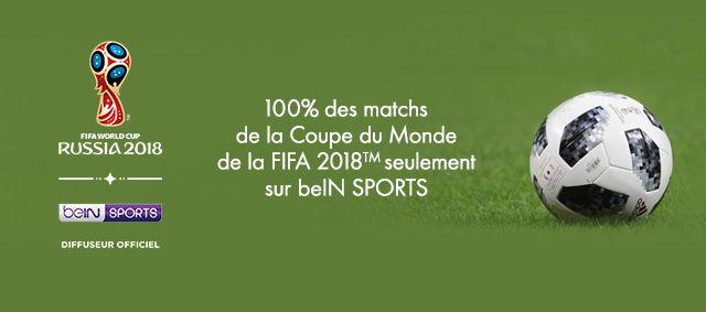 Coupe du Monde 2018 - Bein Sport