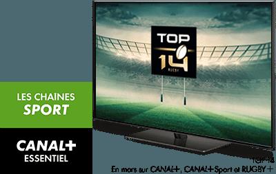 TOP 14 en mars sur CANAL+, CANAL+ SPORT et RUGBY+