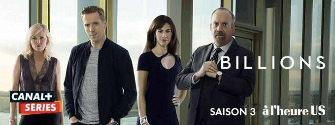Billions saison 3 en mars sur CANAL+ Series