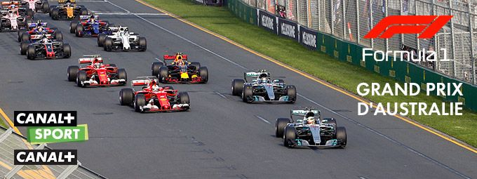 Reprise Championnat du Monde de Formule 1 / Grand Prix d'Australie en mars sur CANAL+ SPORT