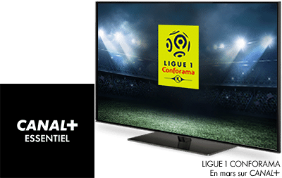 Ligue 1 Conforama en mars sur CANAL+