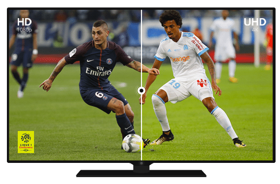 Comparatif HD - UHD 4K